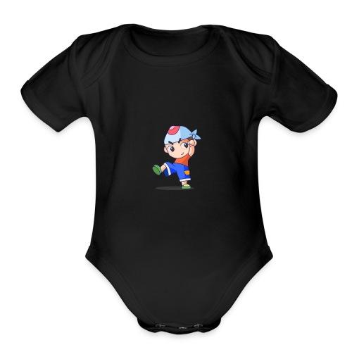 Yay! - Organic Short Sleeve Baby Bodysuit
