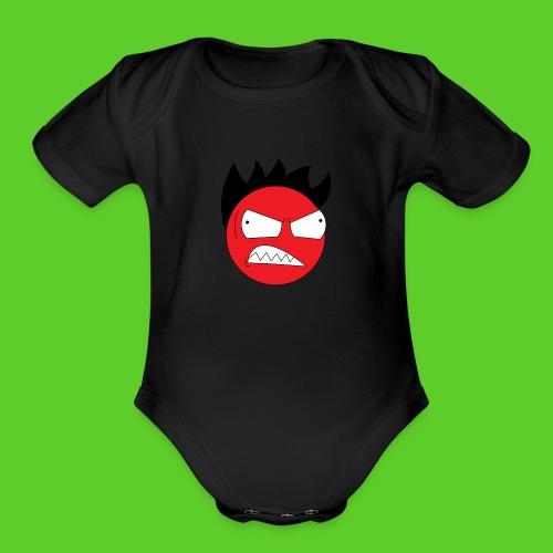 FuriousBro - Organic Short Sleeve Baby Bodysuit