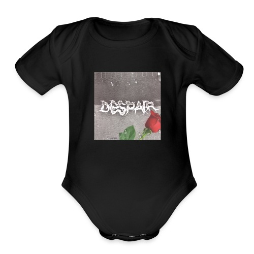 Despair - Organic Short Sleeve Baby Bodysuit
