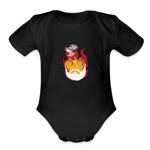 KABALI 02 - Organic Short Sleeve Baby Bodysuit