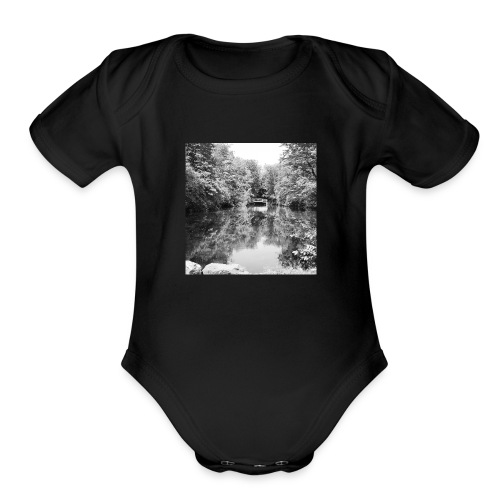 Lone - Organic Short Sleeve Baby Bodysuit