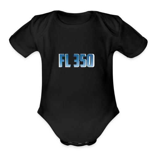 FL350 - Organic Short Sleeve Baby Bodysuit