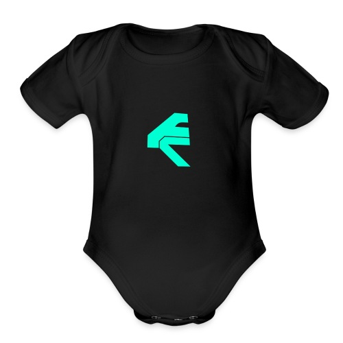 FirmClan - Organic Short Sleeve Baby Bodysuit