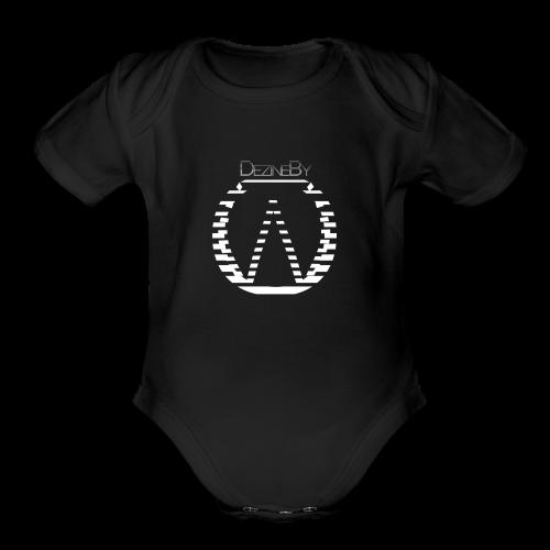 #Dezinebyow - Organic Short Sleeve Baby Bodysuit