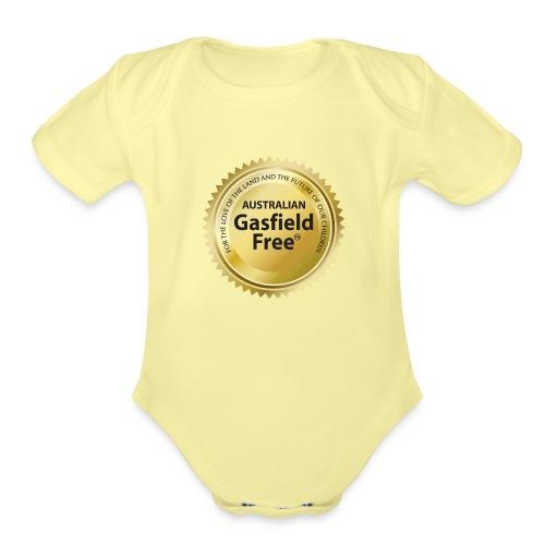 AGF Organic T Shirt - Traditional - Organic Short Sleeve Baby Bodysuit