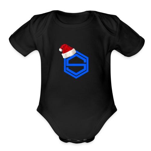 gggg - Organic Short Sleeve Baby Bodysuit