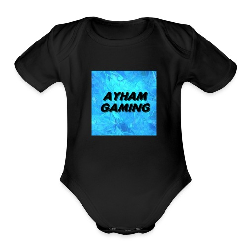 Ayham Gaming - Organic Short Sleeve Baby Bodysuit