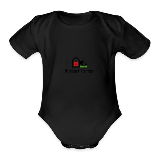 Farm_1 - Organic Short Sleeve Baby Bodysuit
