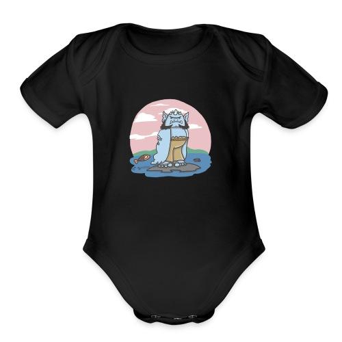 TrollRiver - Organic Short Sleeve Baby Bodysuit