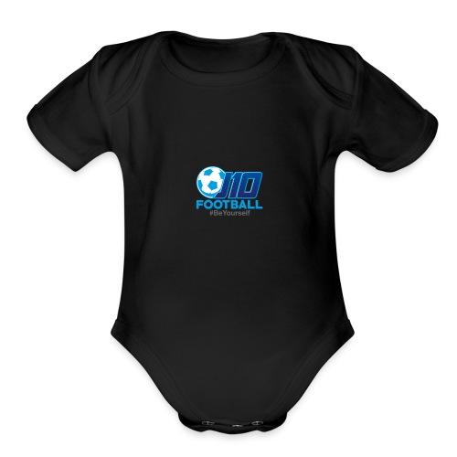 J10football merchandise - Organic Short Sleeve Baby Bodysuit