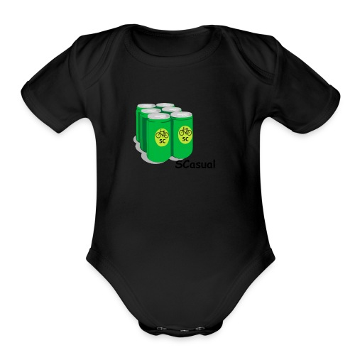 SCasual - Organic Short Sleeve Baby Bodysuit