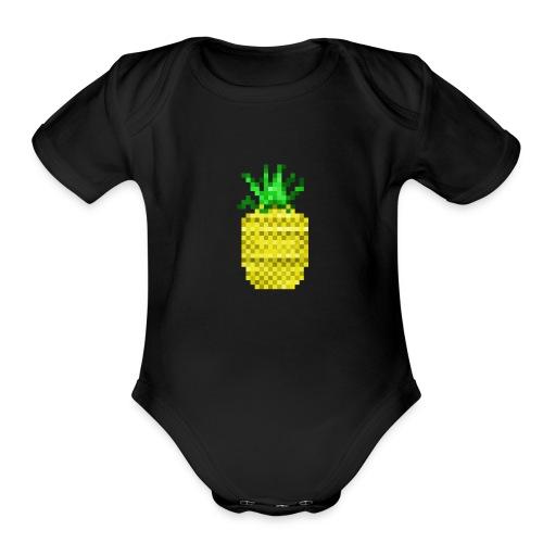 Apple of Pine - Organic Short Sleeve Baby Bodysuit