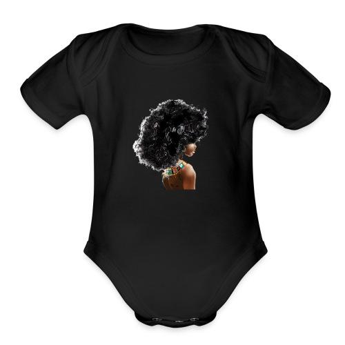 The Black Girl Experience - Organic Short Sleeve Baby Bodysuit