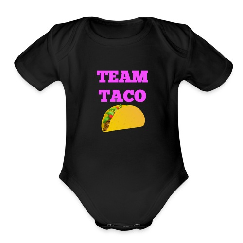TEAMTACO - Organic Short Sleeve Baby Bodysuit