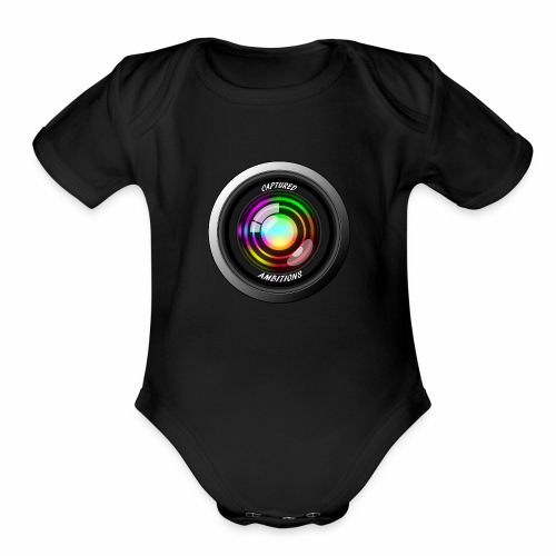 Captured Ambitions - Organic Short Sleeve Baby Bodysuit