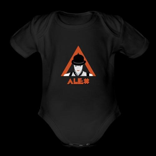 Alex - Organic Short Sleeve Baby Bodysuit