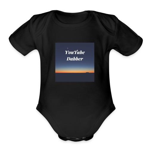 YouTube Dabber - Organic Short Sleeve Baby Bodysuit