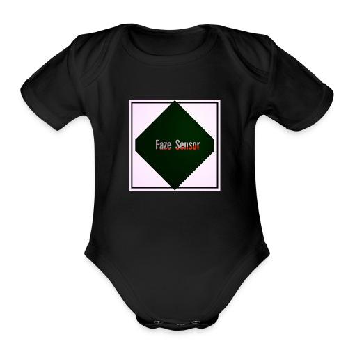 Faze Sensor clothing - Organic Short Sleeve Baby Bodysuit