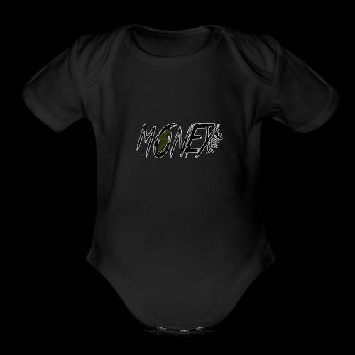 Money Gang MG - Organic Short Sleeve Baby Bodysuit