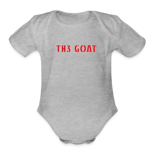 GREEK GOAT - Organic Short Sleeve Baby Bodysuit