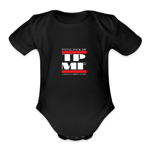 TPMF (Total Pack MF) - Organic Short Sleeve Baby Bodysuit