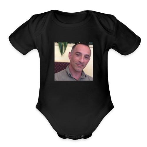 Mr Barca - Organic Short Sleeve Baby Bodysuit