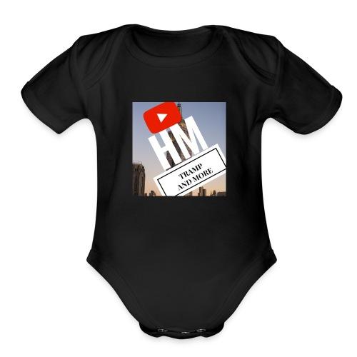 hugo mossman - Organic Short Sleeve Baby Bodysuit