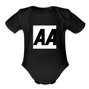 A.A - Short Sleeve Baby Bodysuit