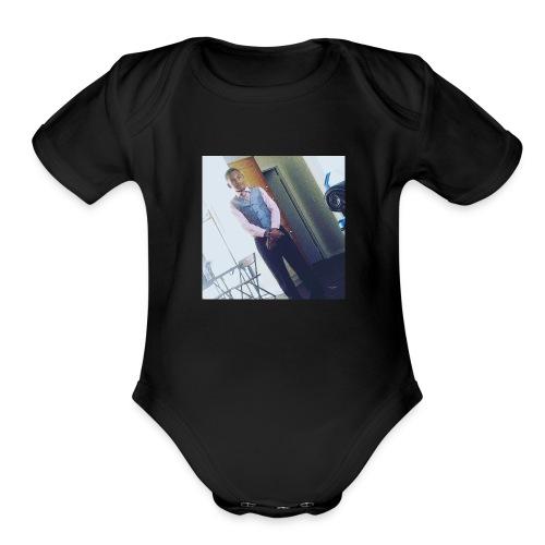 This day - Organic Short Sleeve Baby Bodysuit