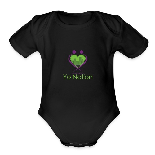 tyn - Organic Short Sleeve Baby Bodysuit