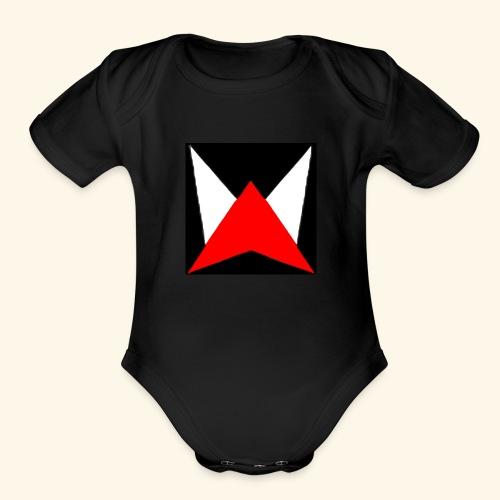 zoom logo - Organic Short Sleeve Baby Bodysuit