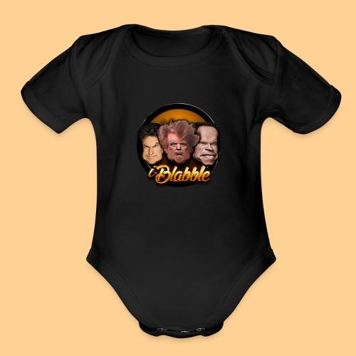 iBlabble - Organic Short Sleeve Baby Bodysuit