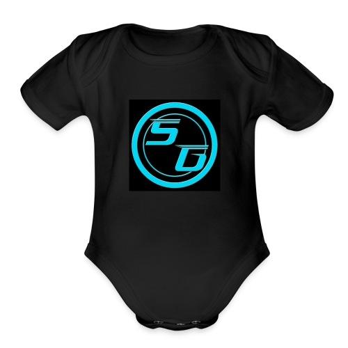 Sniperghostk merch - Organic Short Sleeve Baby Bodysuit