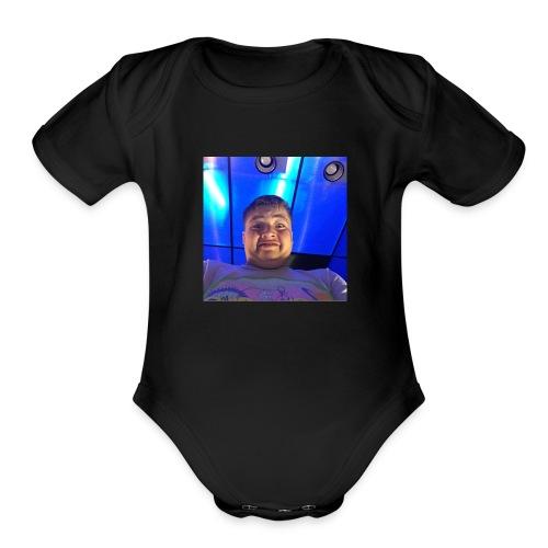 Games movie night - Organic Short Sleeve Baby Bodysuit
