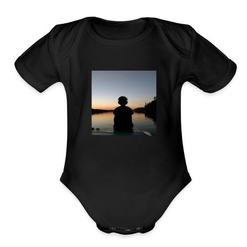 i dig music - Organic Short Sleeve Baby Bodysuit