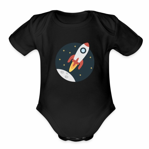 instant delivery icon - Organic Short Sleeve Baby Bodysuit