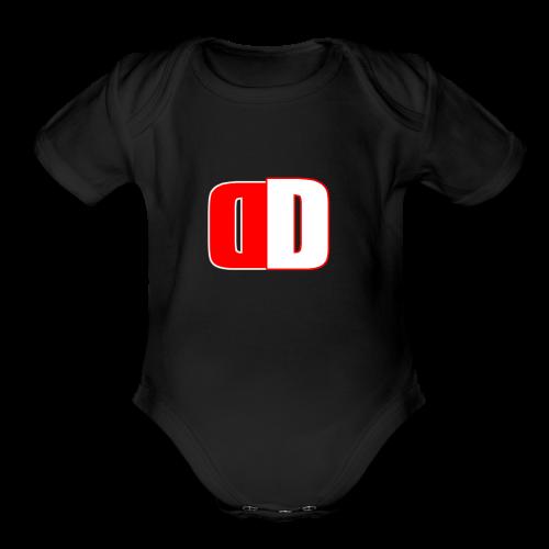 donjuan doner - Organic Short Sleeve Baby Bodysuit