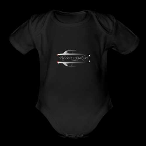 XW GS GHOST - Organic Short Sleeve Baby Bodysuit