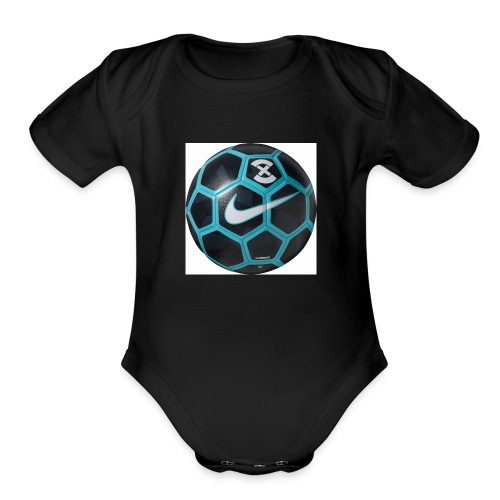 Football pro - Organic Short Sleeve Baby Bodysuit