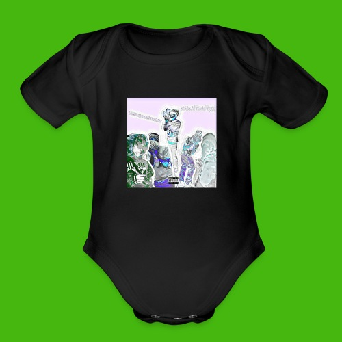 NARLEY BWOY $$$ album cover - Organic Short Sleeve Baby Bodysuit