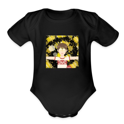 65934593 961F 4F71 ABB1 083C6D9CDB52 - Organic Short Sleeve Baby Bodysuit