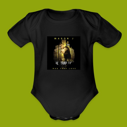 Mason J Christian Hip Hop Artist(FAN SHIRT) - Organic Short Sleeve Baby Bodysuit