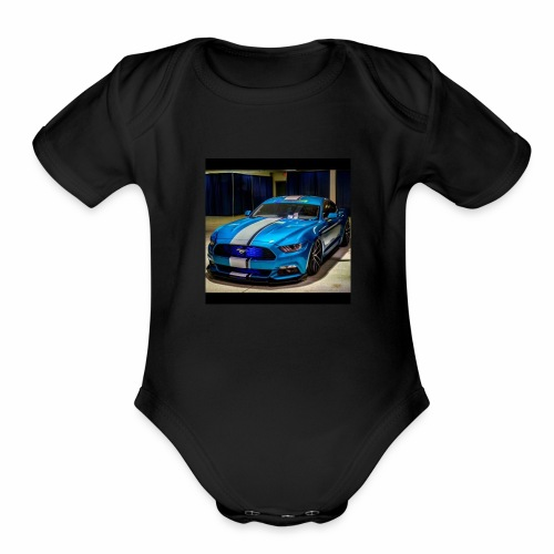 TEAM FORD - Organic Short Sleeve Baby Bodysuit