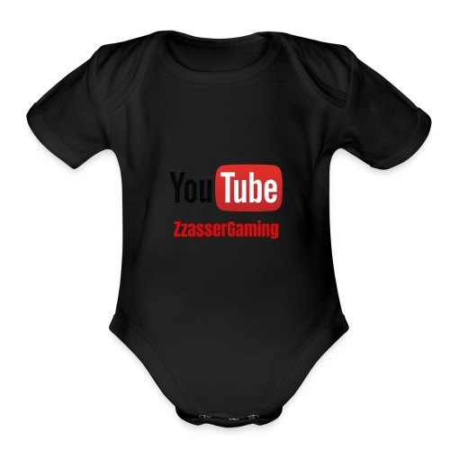 YouTube ZzasserGaming - Organic Short Sleeve Baby Bodysuit