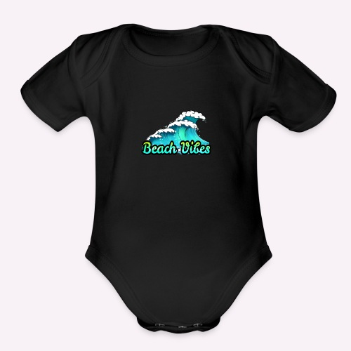 Beach Vibes - Organic Short Sleeve Baby Bodysuit