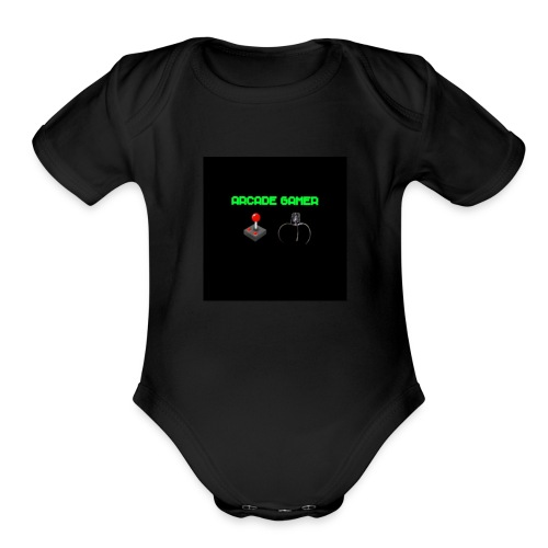 ARCADE GAMER T-SHIRT - Organic Short Sleeve Baby Bodysuit