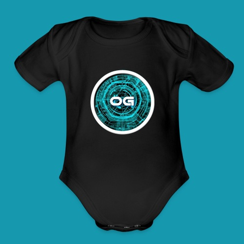 Overated gaming - Organic Short Sleeve Baby Bodysuit