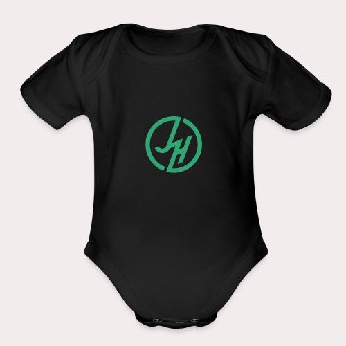 my john hudson logo - Organic Short Sleeve Baby Bodysuit