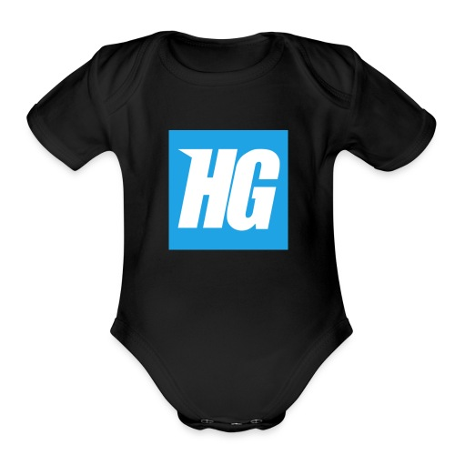 Hardcoregamer - Organic Short Sleeve Baby Bodysuit