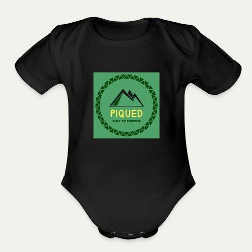 Piqued - Organic Short Sleeve Baby Bodysuit